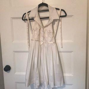 White Bebe Dress